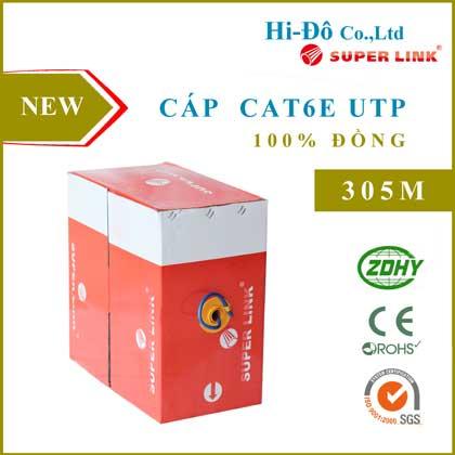 Cáp Mạng Cat6E UTP đồng nguyên chất