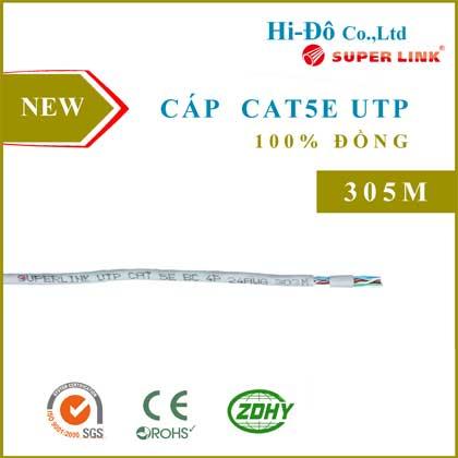 Cáp mạng Cat5e UTP đồng nguyên chất